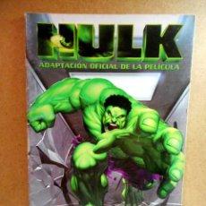 Cómics: HULK : LA PELÍCULA ( EL CÓMIC DE LA PELÍCULA ) FORUM 2003. Lote 221889676