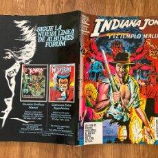 Cómics: INDIANA JONES Y EL TEMPLO MALDITO - NOVELAS GRAFICAS MARVEL , NUMERO ESPECIAL. Lote 221890358