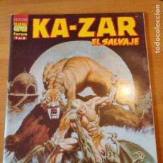 Cómics: KAZAR EL SALVAJE 1. Lote 221924322