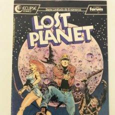 Cómics: LOST PLANET NÚMERO 1 ECLIPSE COMICS. Lote 221952043