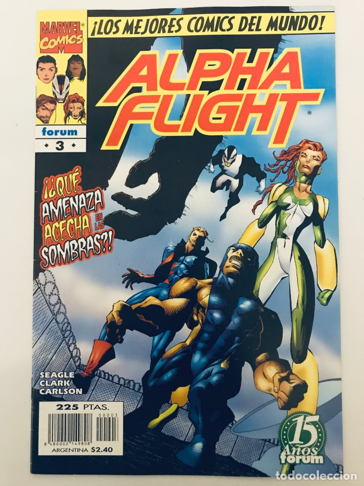 ALPHA FLIGHT NÚMERO 3 VOL 2 (Tebeos y Comics - Forum - Alpha Flight)