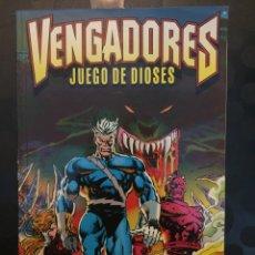 Cómics: VENGADORES : JUEGO DE DIOSES ( 1996 ).. Lote 221976211