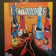 Cómics: LOS VENGADORES TOMO 3 RETAPADO EN CARTONÉ CONTIENE LOS N.11 A 15 .. Lote 221976471