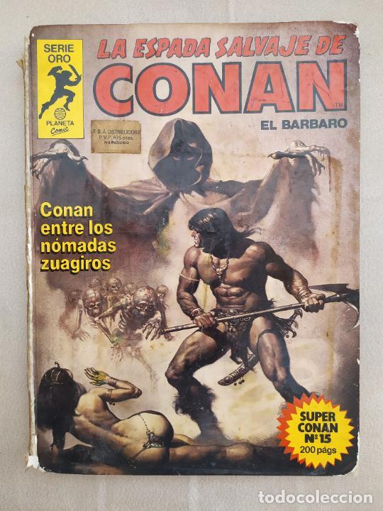 LA ESPADA SALVAJE DE CONAN EL BARBARO 15 SERIE ORO SUPER CONAN (Tebeos y Comics - Forum - Conan)