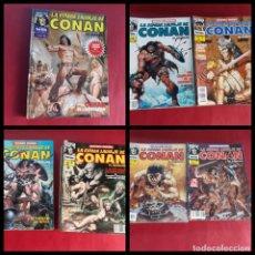 Cómics: LOTE DE 23 COMICS Y UN TOMO- LA ESPADA SALVAJE CONAN 2ª EDICION. Lote 222012300