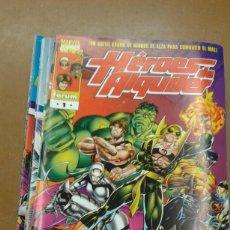 Cómics: COLECCION COMPLETA DE COMICS FORUM HEROES DE ALQUILER 19 NºS. Lote 222014891