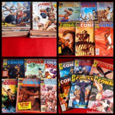 Cómics: LOTE DE 61 COMICS - LA ESPADA SALVAJE DE CONAN 1ª EDICION. Lote 222015041