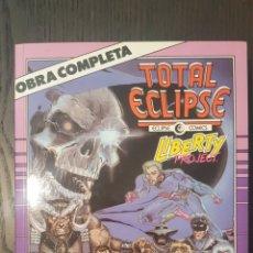 Cómics: COMICS - TOTAL ECLIPSE - LIBERTY PROJECT OBRA COMPLETA - COMICS FORUM - 1990 - S. LARROCA. Lote 222028288