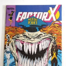 Cómics: FACTOR X Nº 29 - VOL.1 - FORUM 1989 - MARVEL - ESTADO SEGUN FOTO. Lote 222060910