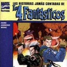 Cómics: LAS HISTORIAS JAMAS CONTADAS DE LOS 4 FANTASTICOS - COMPLETA - 3 NUMEROS. Lote 222083008