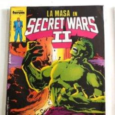 Cómics: MARVEL SUPERHEROES - SECRET WARS Nº 23 - EDITORIAL FORUM - 1986 - MARVEL - 1ª EDICION. Lote 222083947