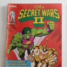 Cómics: MARVEL SUPERHEROES - SECRET WARS Nº 27 - EDITORIAL FORUM - 1986 - MARVEL - 1ª EDICION. Lote 222084217