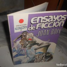 Cómics: ENSAYOS DE FICCIÓN JOAN BOIX ED. ASTRI 1987 COMIKAZE. Lote 222088195