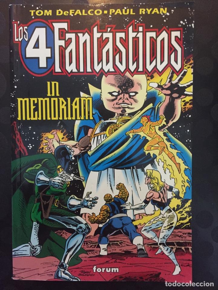 LOS 4 FANTÁSTICOS IN MEMORIAM . ( 1996 ) . (Tebeos y Comics - Forum - 4 Fantásticos)