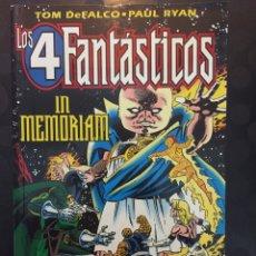 Cómics: LOS 4 FANTÁSTICOS IN MEMORIAM . ( 1996 ) .. Lote 222100265