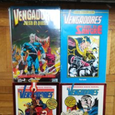 Cómics: VENGADORES HARTAS EPTING ETAPA COMPLETA 4 TOMOS. Lote 222110083