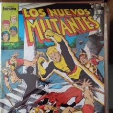 Comics: LOS NUEVOS MUTANTES 10 PRIMERA EDICIÓN FORUM - 1986. Lote 222138672