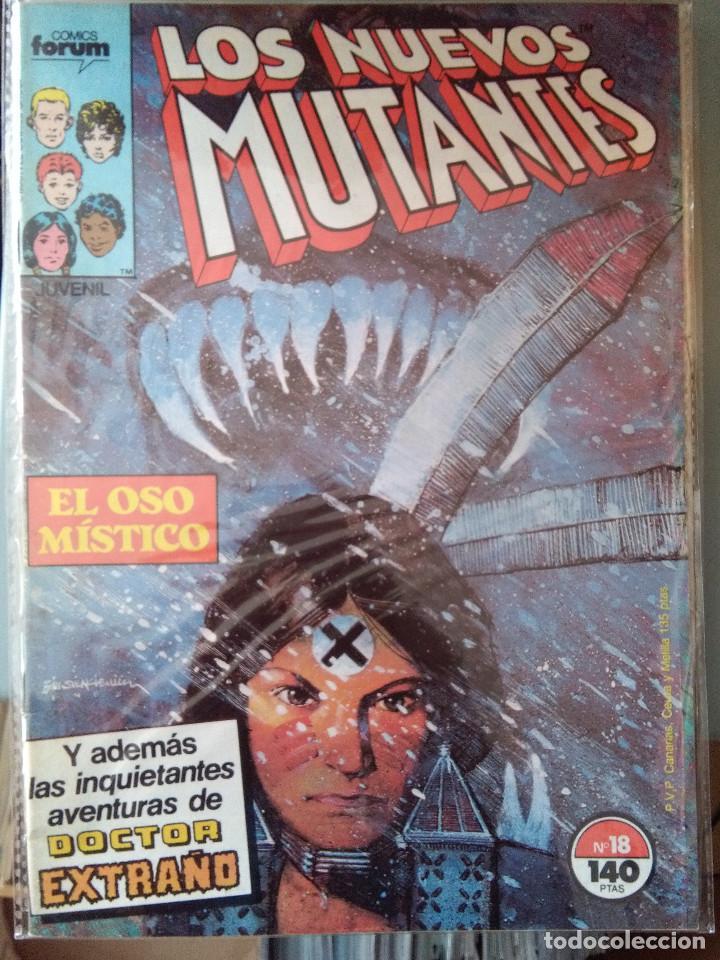 LOS NUEVOS MUTANTES 18 PRIMERA EDICIÓN FORUM - 1986 (Tebeos y Comics - Forum - Nuevos Mutantes)