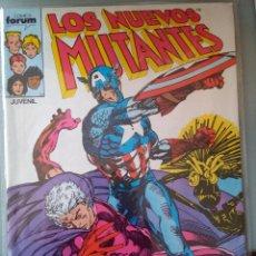 Cómics: LOS NUEVOS MUTANTES 40 PRIMERA EDICIÓN FORUM - 1988. Lote 222139955