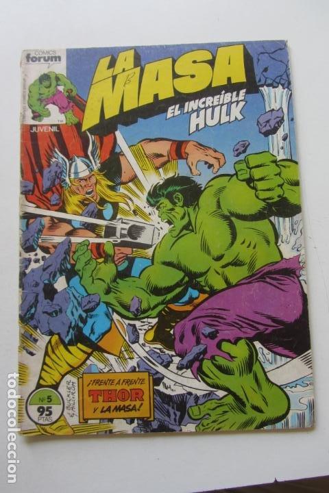 LA MASA EL INCREÍBLE HULK VOL 1 Nº 5 FORUM MUCHOS EN VENTA, MIRA TUS FALTAS ARX1 (Tebeos y Comics - Forum - Hulk)
