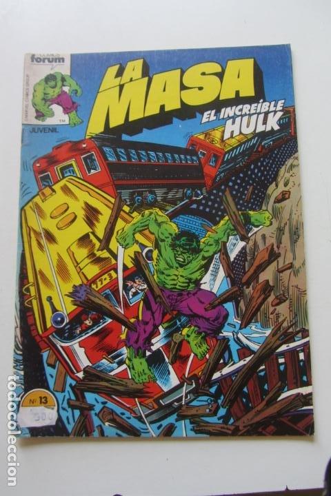 LA MASA EL INCREÍBLE HULK VOL 1 Nº 13 FORUM MUCHOS EN VENTA, MIRA TUS FALTAS ARX1 (Tebeos y Comics - Forum - Hulk)