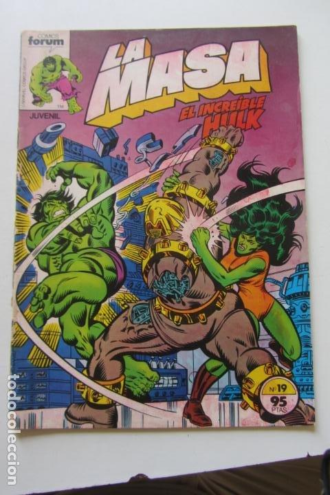 LA MASA EL INCREÍBLE HULK VOL 1 Nº 19 FORUM MUCHOS EN VENTA, MIRA TUS FALTAS ARX1 (Tebeos y Comics - Forum - Hulk)