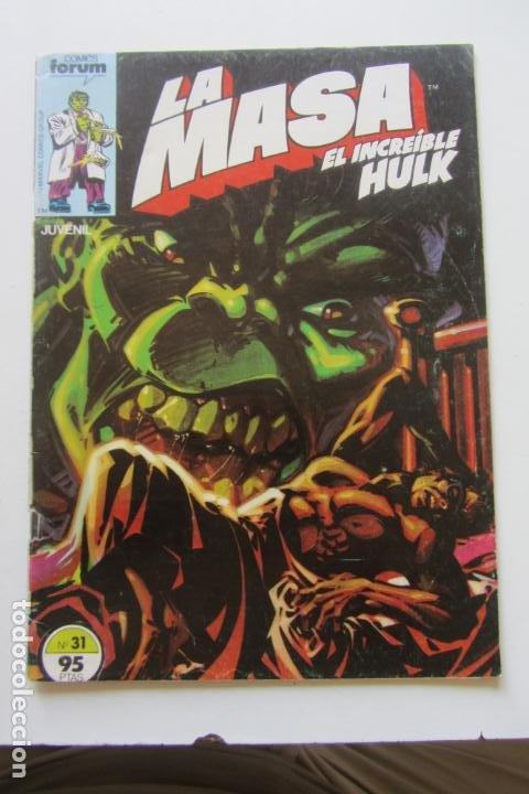 LA MASA EL INCREÍBLE HULK VOL 1 Nº 31 FORUM MUCHOS EN VENTA, MIRA TUS FALTAS ARX1 (Tebeos y Comics - Forum - Hulk)