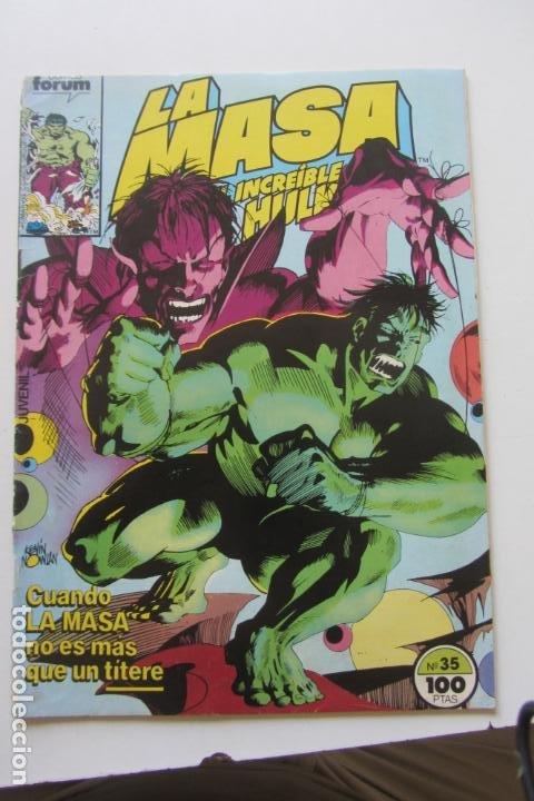 LA MASA EL INCREÍBLE HULK VOL 1 Nº 35 FORUM MUCHOS EN VENTA, MIRA TUS FALTAS ARX1 (Tebeos y Comics - Forum - Hulk)