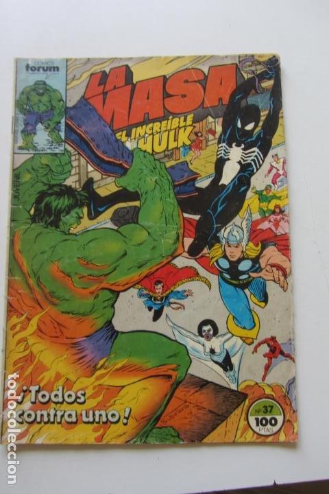 LA MASA EL INCREÍBLE HULK VOL 1 Nº 37 FORUM MUCHOS EN VENTA, MIRA TUS FALTAS ARX1 (Tebeos y Comics - Forum - Hulk)
