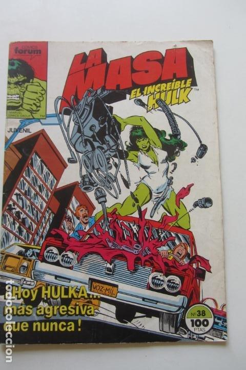 LA MASA EL INCREÍBLE HULK VOL 1 Nº 38 FORUM MUCHOS EN VENTA, MIRA TUS FALTAS ARX1 (Tebeos y Comics - Forum - Hulk)