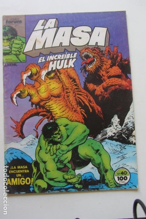 LA MASA EL INCREÍBLE HULK VOL 1 Nº 40 FORUM MUCHOS EN VENTA, MIRA TUS FALTAS ARX1 (Tebeos y Comics - Forum - Hulk)