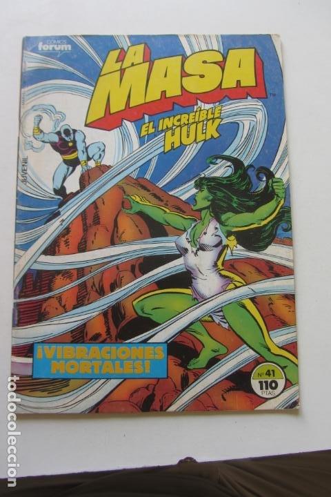 LA MASA EL INCREÍBLE HULK VOL 1 Nº 41 FORUM MUCHOS EN VENTA, MIRA TUS FALTAS ARX1 (Tebeos y Comics - Forum - Hulk)