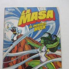 Comics: LA MASA EL INCREÍBLE HULK VOL 1 Nº 41 FORUM MUCHOS EN VENTA, MIRA TUS FALTAS ARX1. Lote 222157280
