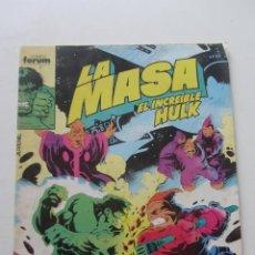 Comics: LA MASA EL INCREÍBLE HULK VOL 1 Nº 44 FORUM MUCHOS EN VENTA, MIRA TUS FALTAS ARX1. Lote 222157451
