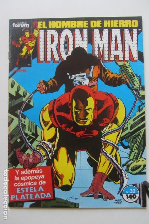 IRON MAN EL HOMBRE DE HIERRO VOL 1Nº 32 FORUM MUCHOS EN VENTA, MIRA TUS FALTAS ARX1 (Tebeos y Comics - Forum - Iron Man)