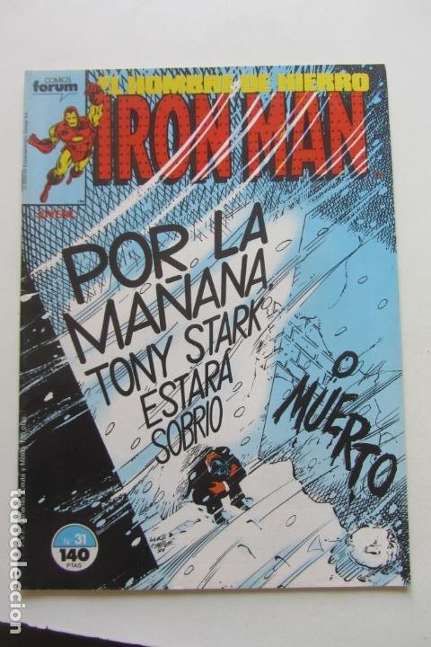 IRON MAN EL HOMBRE DE HIERRO VOL 1Nº 31 FORUM MUCHOS EN VENTA, MIRA TUS FALTAS ARX1 (Tebeos y Comics - Forum - Iron Man)