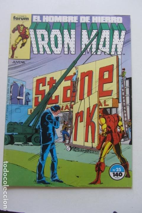 IRON MAN EL HOMBRE DE HIERRO VOL 1Nº 25 FORUM MUCHOS EN VENTA, MIRA TUS FALTAS ARX1 (Tebeos y Comics - Forum - Iron Man)