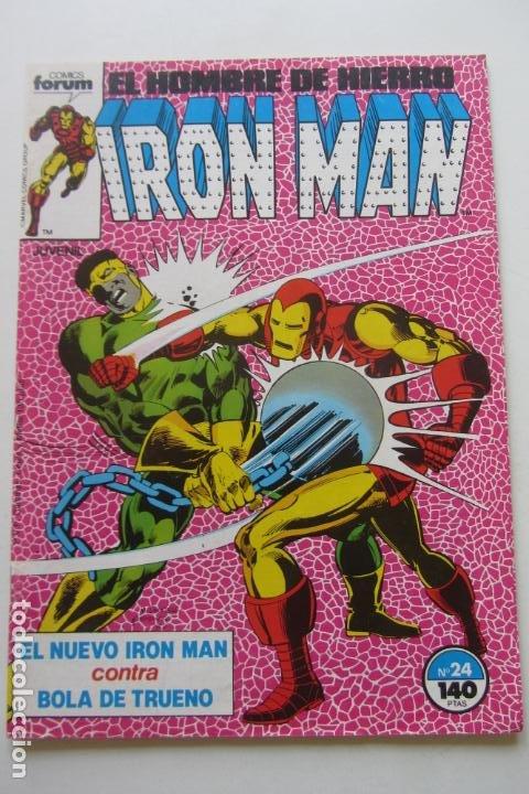 IRON MAN EL HOMBRE DE HIERRO VOL 1Nº 24 FORUM MUCHOS EN VENTA, MIRA TUS FALTAS ARX1 (Tebeos y Comics - Forum - Iron Man)