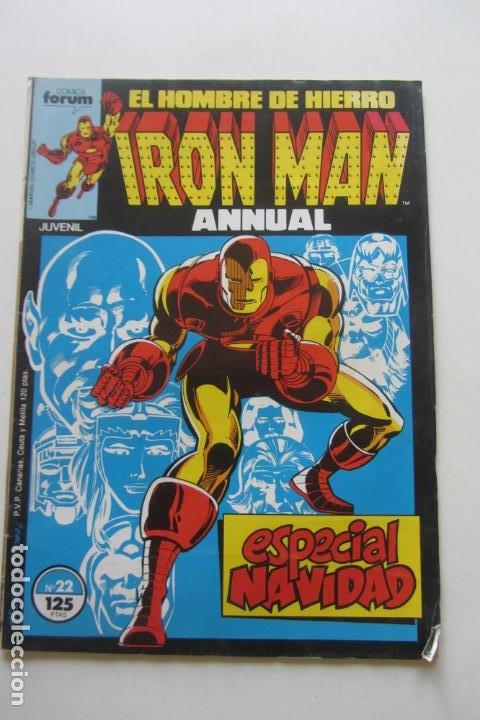 IRON MAN EL HOMBRE DE HIERRO VOL 1Nº 22 FORUM MUCHOS EN VENTA, MIRA TUS FALTAS ARX1 (Tebeos y Comics - Forum - Iron Man)