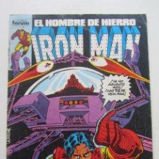 Cómics: IRON MAN EL HOMBRE DE HIERRO VOL 1Nº 21 FORUM MUCHOS EN VENTA, MIRA TUS FALTAS ARX1. Lote 222159162
