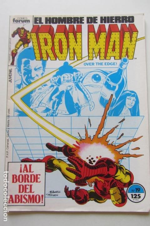 IRON MAN EL HOMBRE DE HIERRO VOL 1 Nº 19 FORUM MUCHOS EN VENTA, MIRA TUS FALTAS ARX1 (Tebeos y Comics - Forum - Iron Man)