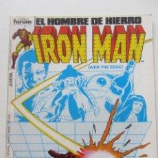 Cómics: IRON MAN EL HOMBRE DE HIERRO VOL 1 Nº 19 FORUM MUCHOS EN VENTA, MIRA TUS FALTAS ARX1. Lote 222159347