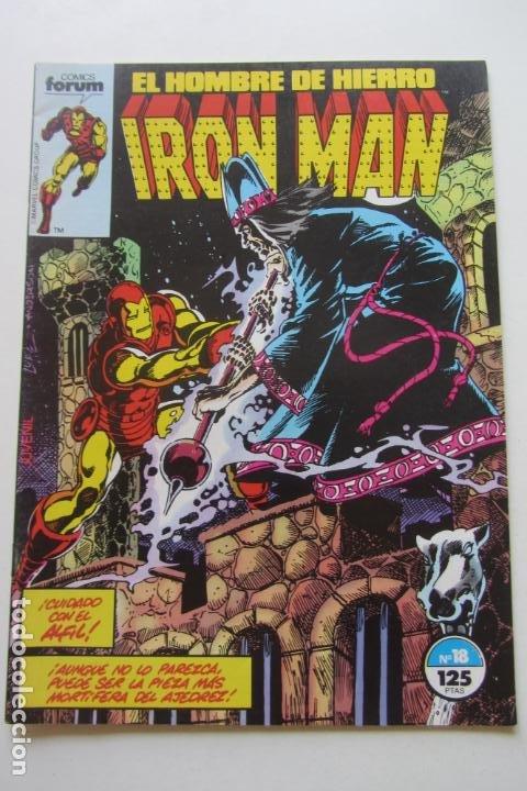IRON MAN EL HOMBRE DE HIERRO VOL 1 Nº 18 FORUM MUCHOS EN VENTA, MIRA TUS FALTAS ARX1 (Tebeos y Comics - Forum - Iron Man)