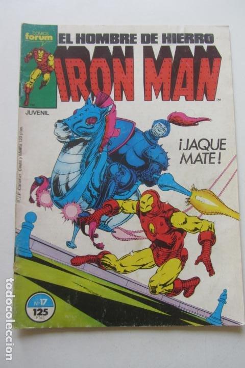 IRON MAN EL HOMBRE DE HIERRO VOL 1 Nº 17 FORUM MUCHOS EN VENTA, MIRA TUS FALTAS ARX1 (Tebeos y Comics - Forum - Iron Man)