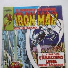 Cómics: IRON MAN EL HOMBRE DE HIERRO VOL 1 Nº 16 CABALLLERO LUNA FORUM MUCHOS EN VENTA, MIRA TUS FALTAS ARX1. Lote 222159933