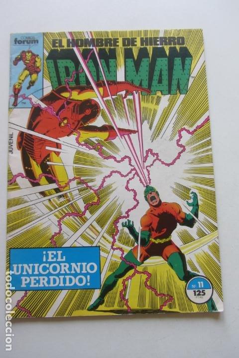 IRON MAN EL HOMBRE DE HIERRO VOL 1 Nº 11 FORUM MUCHOS EN VENTA, MIRA TUS FALTAS ARX1 (Tebeos y Comics - Forum - Iron Man)