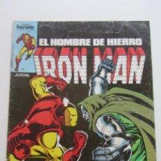 Cómics: IRON MAN EL HOMBRE DE HIERRO VOL 1 Nº 8 FORUM MUCHOS EN VENTA, MIRA TUS FALTAS ARX1. Lote 222160097