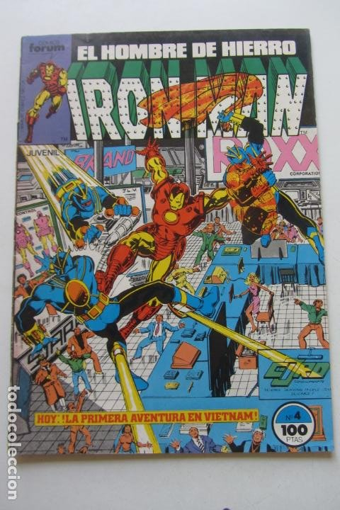IRON MAN EL HOMBRE DE HIERRO VOL 1 Nº 4 FORUM MUCHOS EN VENTA, MIRA TUS FALTAS ARX1 (Tebeos y Comics - Forum - Iron Man)