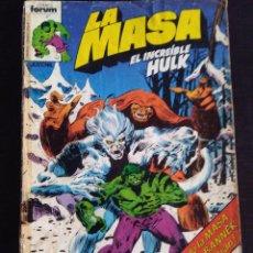Cómics: LA MASA 12 PRIMERA EDICION FORUM. Lote 222174246