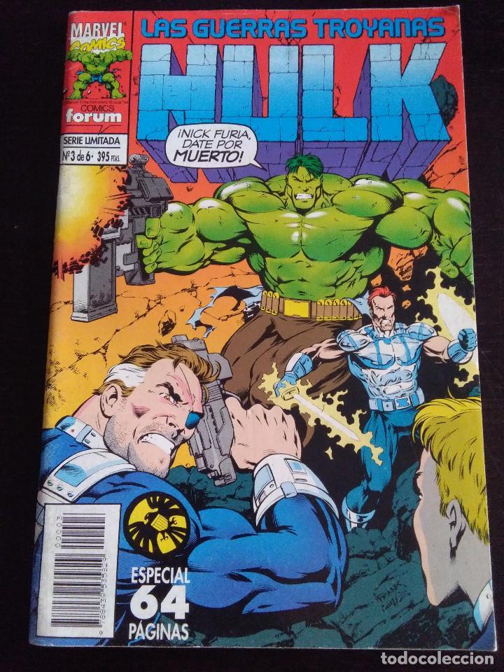 HULK LAS GUERRAS TROYANAS 3-FORUM (Tebeos y Comics - Forum - Hulk)